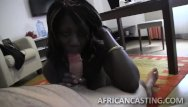 African american care facial man Gorgeous babe taking care of stiff dick