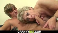 Over 60 sex vidoes Young dude bangs 60 years old granny