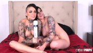 Xxx raven - These two tattooed babes make each other cum hard live