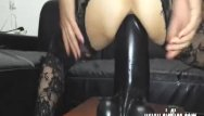 Gargantuan dildos Sarahs gargantuan dildo penetration