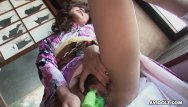 Xxx poke her ass clips - Asian slut pokes her soaking wet pussy with a toy