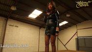 Mature german women in high heels - Mature wetlook herrin carmen walk high-heels fishnets pvc mistress