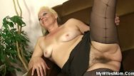 Dirty hairy mature - Guy gets dirty with his mother-in-law