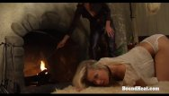 Bound femdom On consignment 3: young blonde slave on her submissive training