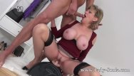 Bbw sybian - Uk milf rides sybian and sucks a huge cock