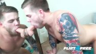 Utube free gay stud in leather Flirt4free - steve rickz - tatted stud fingers his big load inside his ass