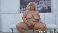 Plump mature boy pics - Euro bbw milf renatte pleasures her plump pussy