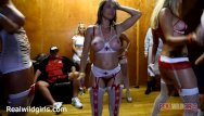 Tiniest bikini contest - Naughty naked nurses twerk contest