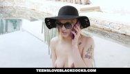 Black cohosh and breast cancer Tlbc - big breasted sunbathing babe gets filled with huge black cock