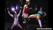 Latex dolls exam Latex nurses rubberdoll anastasia trained by hn rubberella