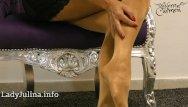 Free pantyhose lane carmen - Handsfree joi cei mature mistress herrin carmen layered nylons pantyhose