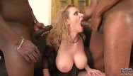 Milf two guys and 1 milf - Milf fucked hard by two black guys in her ass and pussy