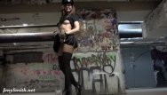 Teen pantyhose public - Pantyhose rock star flashing
