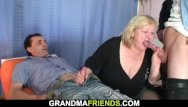 Together in the same pantyhose Huge grandma riding and sucking at same time
