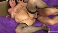 Fat guys dick A long dicked guy fucks fat woman danni dawson in her tight asshole