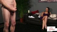 Cfnm jerk off Cfnm voyeur beauty enjoys sub jerking off