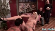 Heidi mayne fucking Blonde wife heidi mayne takes it up the ass while her cuck watches
