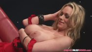 Busty blonde babes double ds Busty threeway babe dped