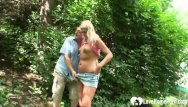 Stupid girls porn old - Hot blonde girl and her old lover fuck