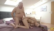 Old gals orgasm video - Daddy4k. red-haired gal couldnt resist to charms of handsome old man