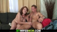 Mom and wife reality sex - Guy fucks old girlfriends old mother
