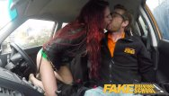 Crazy car by the naked brothers band on nick Fake driving school crazy hot redhead fucks car gearstick after lesson