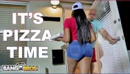 Chubby chandlers pizza Bangbros - black pizza delivery girl moriah mills delivers her big ass