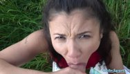 Hallow fields hentai Public agent sexy spanish beauty fucked in a field for cash