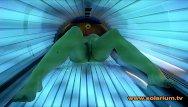Sexy babe tv krystal steal Öffentlich im solarium heimlich gefilmt große titten masturbation amateur