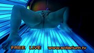 Amateur teen porn tv - Bbw fat girl masturbation on public solarium hidden spy cam