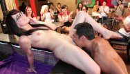 Happy horny nude women - Dancing bear - group of horny women taking dick from male strippers