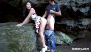 Art asian nature photo woman - Nature walk turns into amateur hardcore sex session - lustery