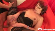 Natural stocking porn shots - Cock-hungry gilf in stockings gets her hole shafted