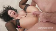 Cock and ball in asshole - Fucking wet 4 on1 with jasmine jae balls deep dap squirting asshole