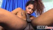 Brown suga porn star Brown sugar honey zoey reyes sucks and screws a huge black cock