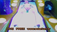 Outstanding tv upskirts - Solarium cam blonde teen fingers herself, public tanning salon reallifecam