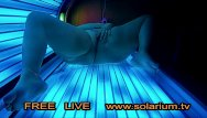 Gilrs boobs Bbw fat gilr in real public tanning salon masturbation on tanning bed