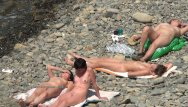 Nude and nudists at play - Nudist girls expose bodies at the beach
