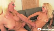 The best of lesbain porn photos - Blonde mature lesbians have the best lovemaking session
