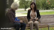 Crocthless bikini Jeny smith was caught wearing crotchless pants in public