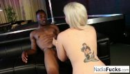 Hardcore tight black - Nadia white takes a black bbc in her tight cunt and wet warm mouth