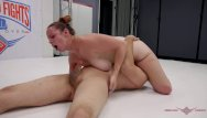 Pussy fight Max blunts has a very tough time against feisty redhead milf bella rossi