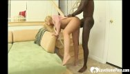 Anal velicity Blonde cannot have enough of his black dick