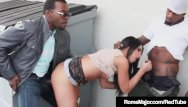 Dumpster free slut - Rome major trains giselle leon with bro behind dumpster
