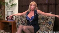 Older mature female An older woman means fun part 103