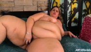 Fat tits bbw plump mature naked Mega fat erin green stimulates her plump pussy with a toy and vibrator