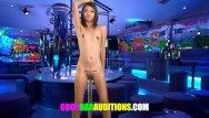 Bar slut videos Petite thai slut sucks big cock for a job
