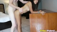 Old sexy filipinas Trike patrol - sexy filipina fucked by white cock and gets mouthful of cum