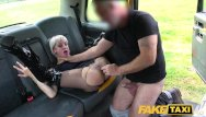 Cock teasing dominatrix - Fake taxi tables are turned on horny dominatrix by big cock driver