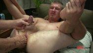 Gay men playing - Str8t blonde butt play